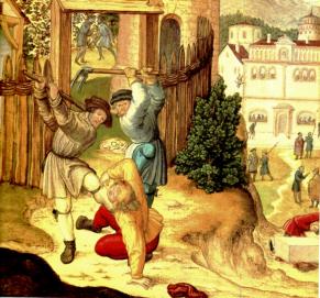 MÉDITATIONS CHRÉTIENNES POUR TOUTE L`ANNÉE - Pere Buse`e - Cie de Jésus - année 1708 Vigneons-homicides-Image1
